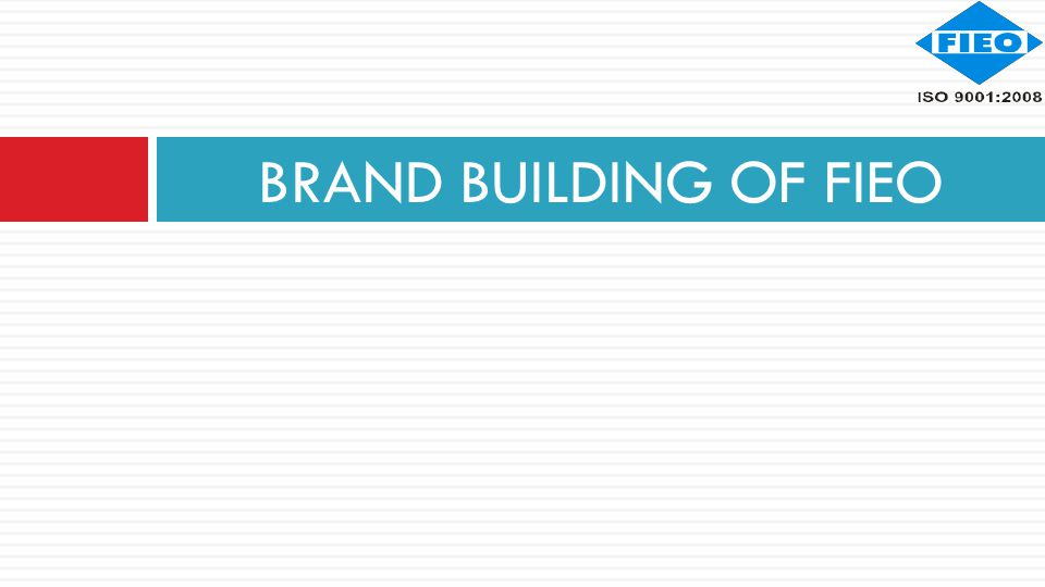 BRAND BUILDING OF FIEO