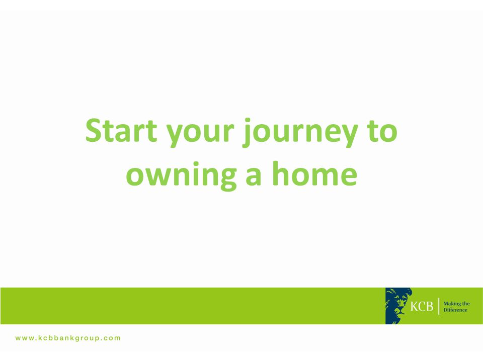 Start your journey to owning a home