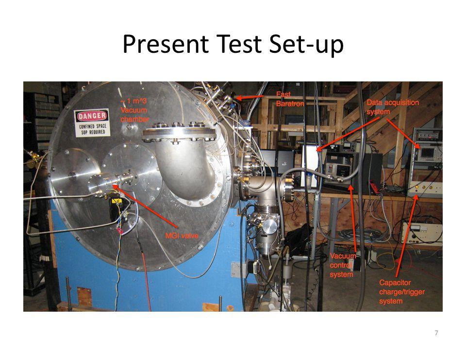 Present Test Set-up 7