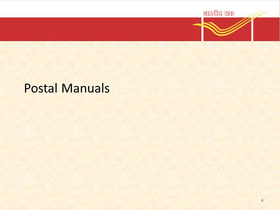 Postal Manuals 4