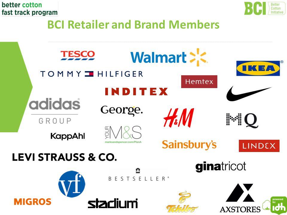 7 BCI Retailer and Brand Members