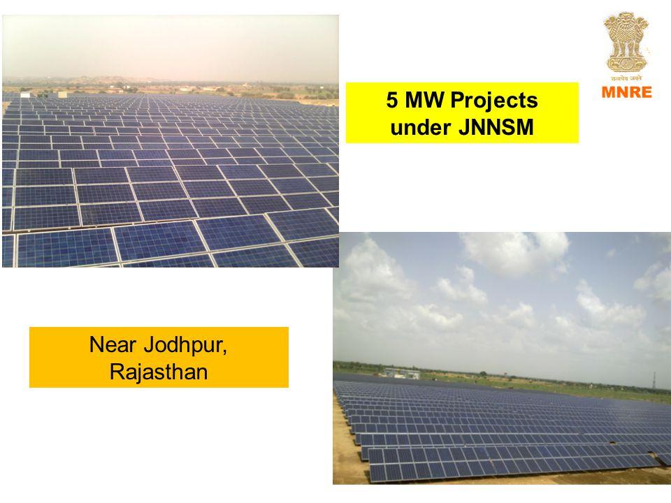 5 MW Projects under JNNSM Near Jodhpur, Rajasthan