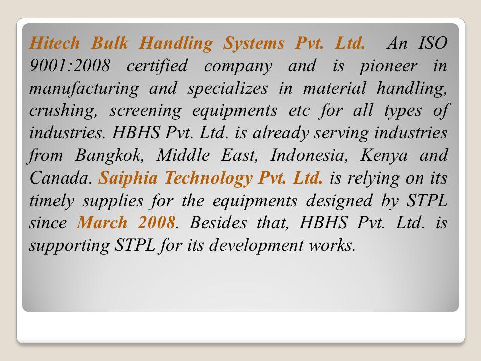 Hitech Bulk Handling Systems Pvt. Ltd.