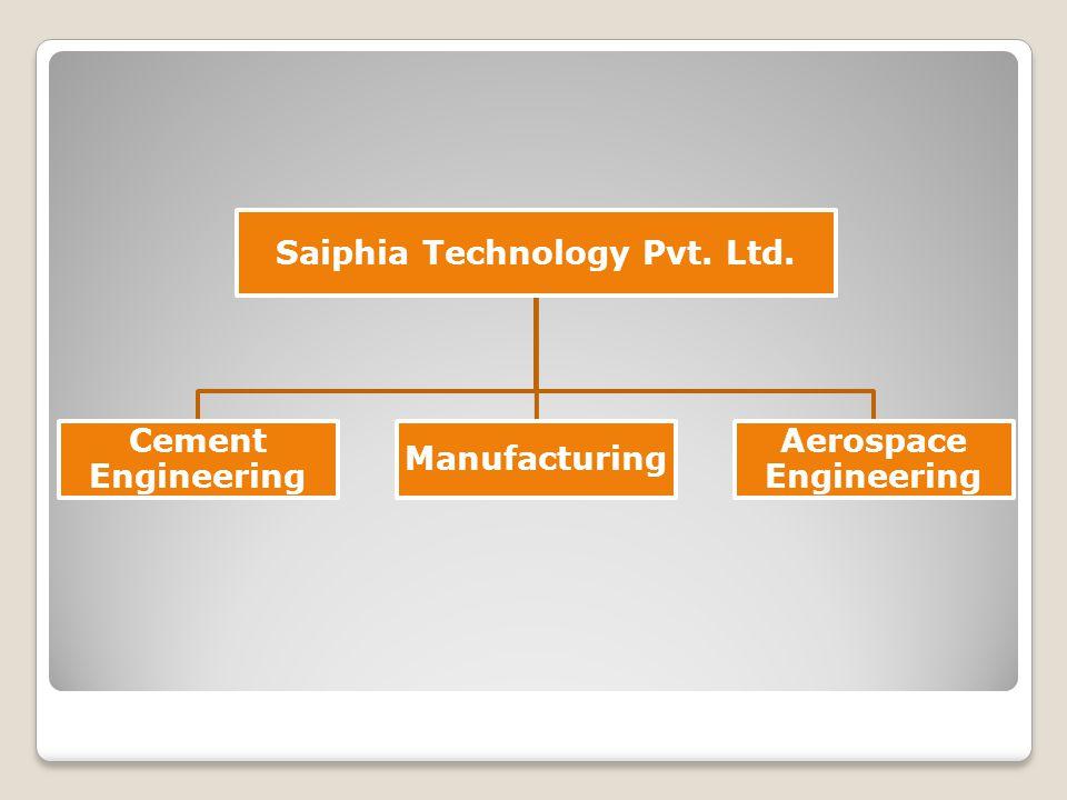 Saiphia Technology Pvt. Ltd. Cement Engineering Manufacturing Aerospace Engineering