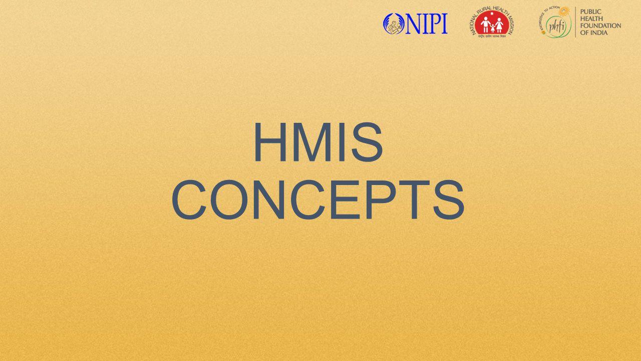 HMIS CONCEPTS