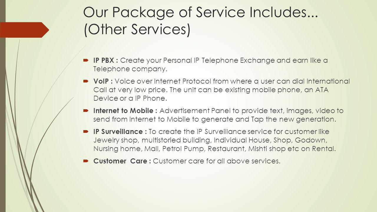  IP PBX : Create your Personal IP Telephone Exchange and earn like a Telephone company.