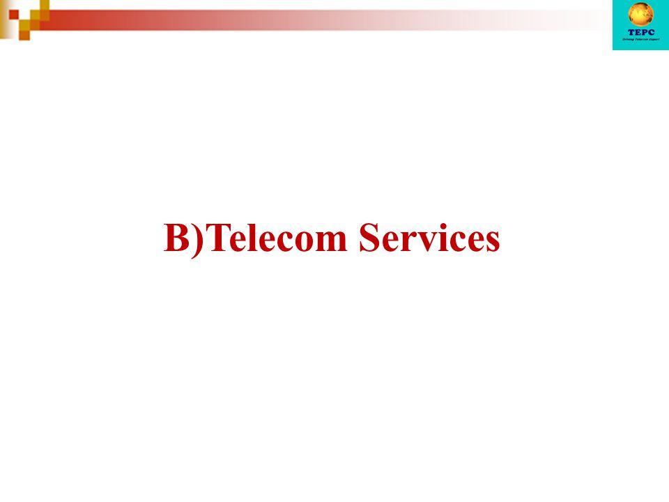 B)Telecom Services