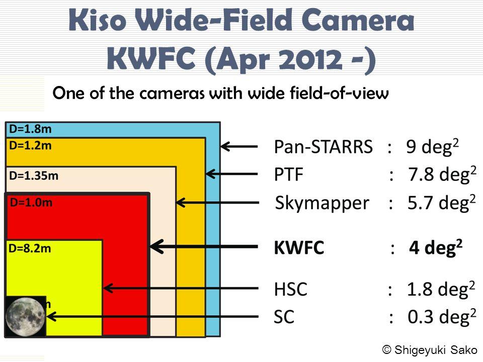Kiso Wide-Field Camera KWFC (Apr 2012 -) One of the cameras with wide field-of-view © Shigeyuki Sako