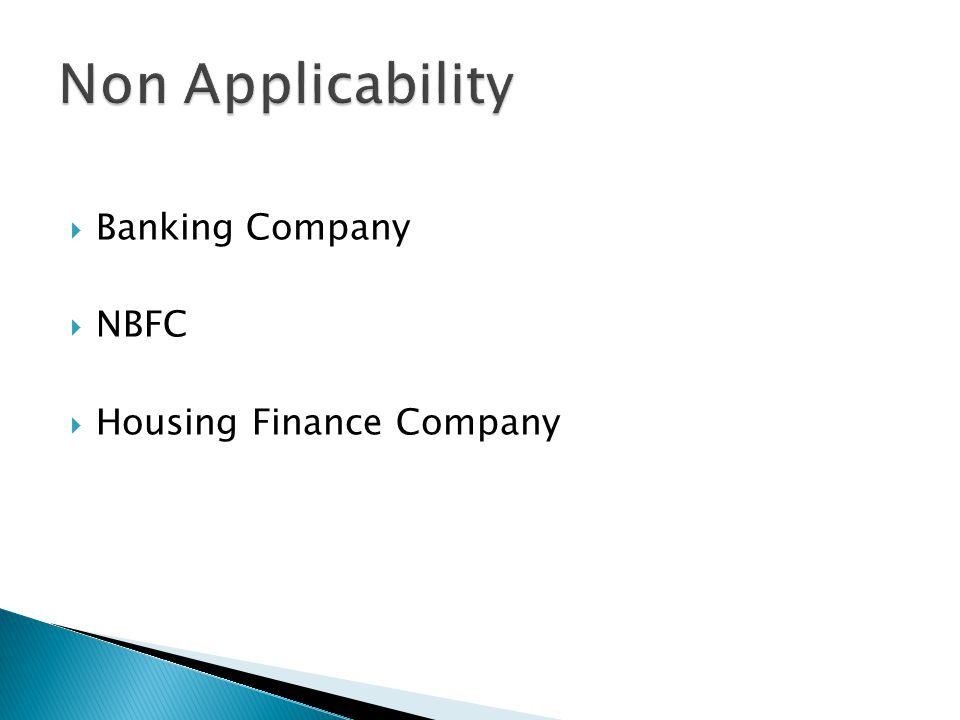  Banking Company  NBFC  Housing Finance Company