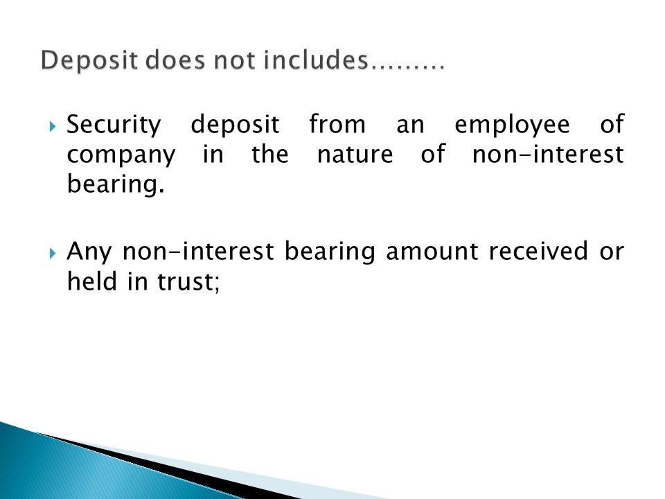  Separate bank account with a Scheduled Bank – Deposit not less than 15% of the amount of its deposits maturing during a FY and FY next following, on/before 30 th April of each year  Purpose: repayment of deposits only.