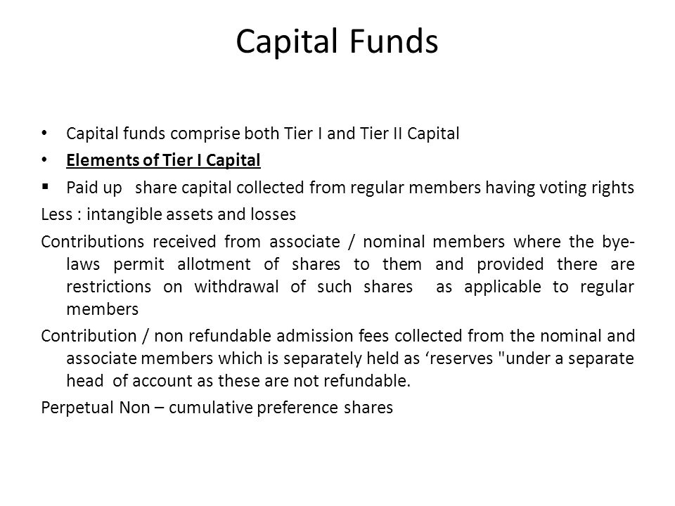 Tier I capital Net paid up capital  Reserves and surplus (i)Statutory reserves (ii)Capital reserves (iii)Other reserves (iv)Surplus in Profit and Loss Account
