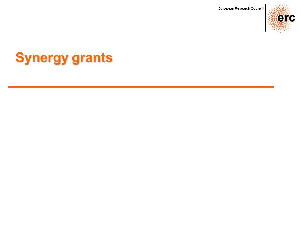 Synergy grants