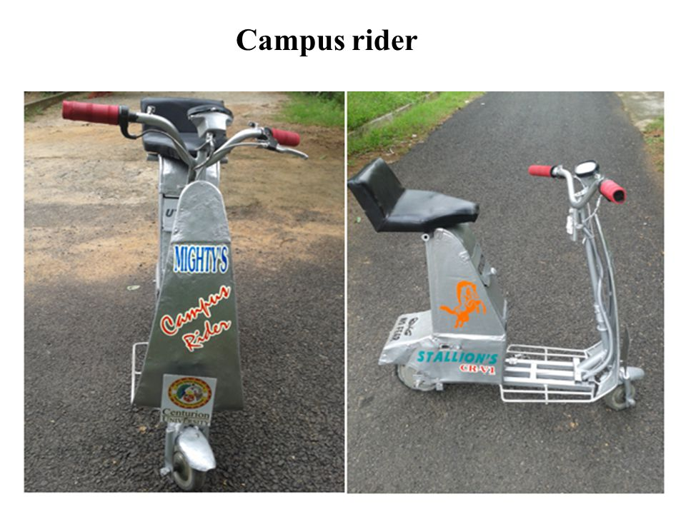 Campus rider