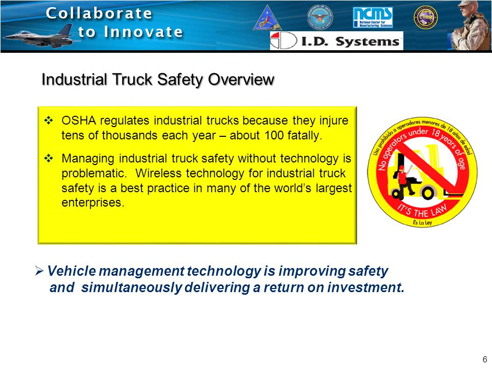 Forklift Data from OSHA  Powered Industrial Truck safety violations are perennially among OSHA's top 10 problems.