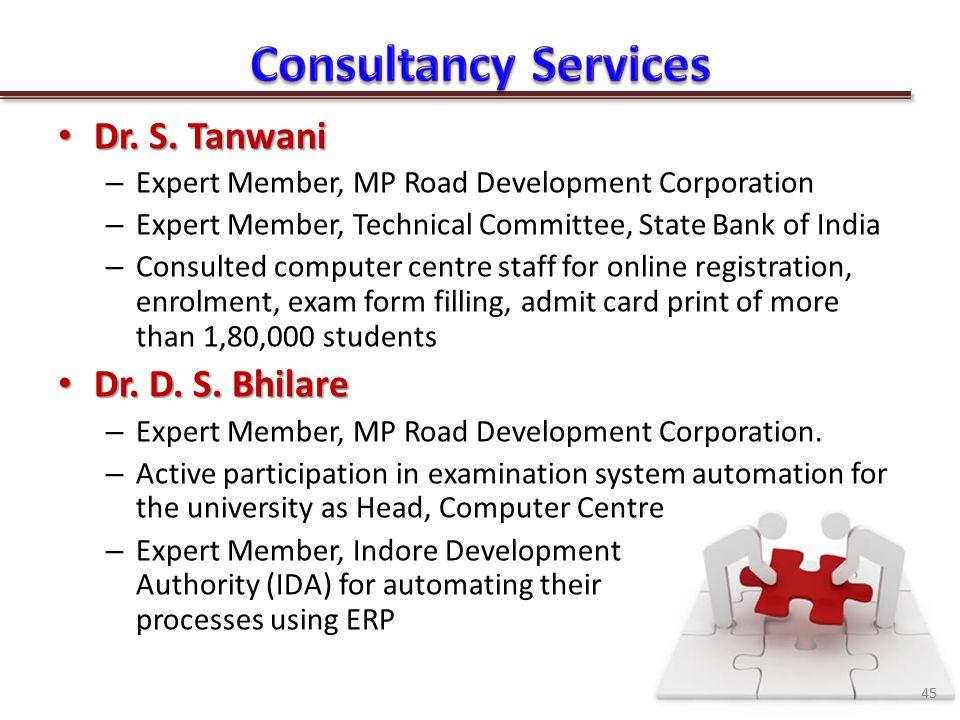 Dr. S. Tanwani Dr. S.