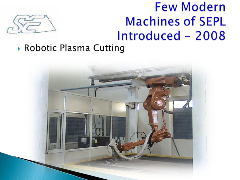 Robotic Plasma Cutting