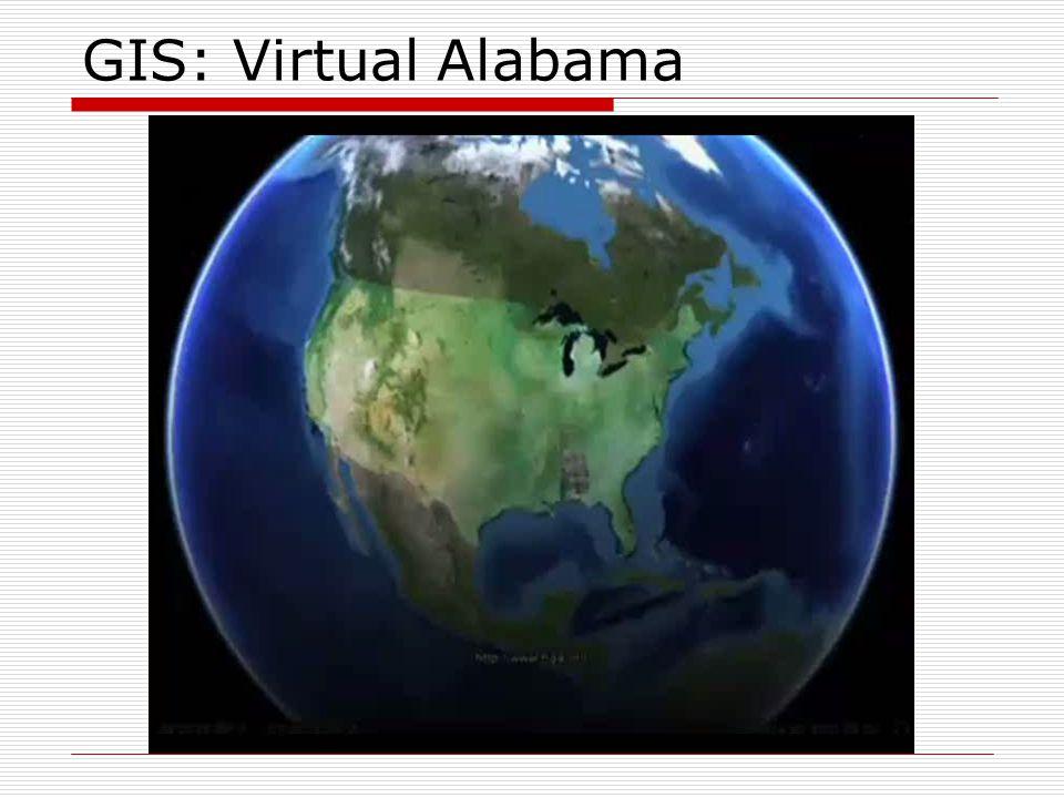 GIS: Virtual Alabama