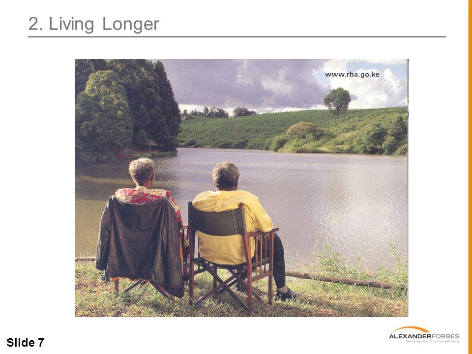 Slide 7 2. Living Longer
