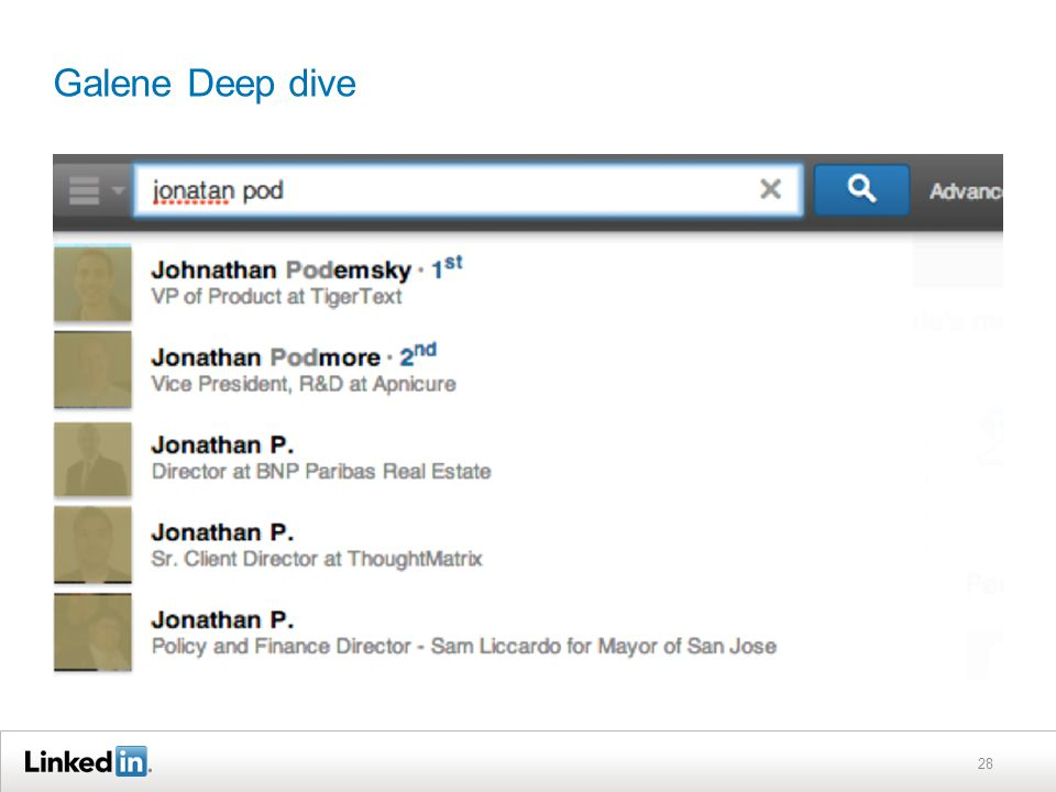 Galene Deep dive 28