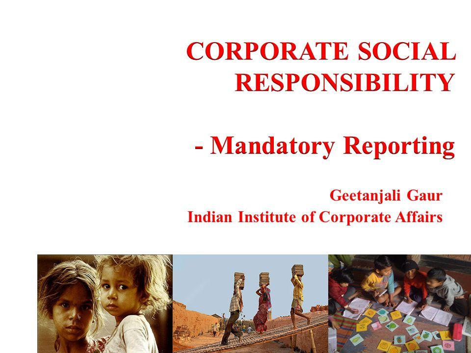 Geetanjali Gaur Indian Institute of Corporate Affairs