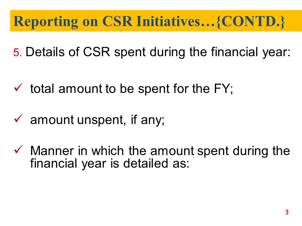 1.Sr N o. 2. CSR project/ac tivity identified 3. Sector in which the project is covered 4.