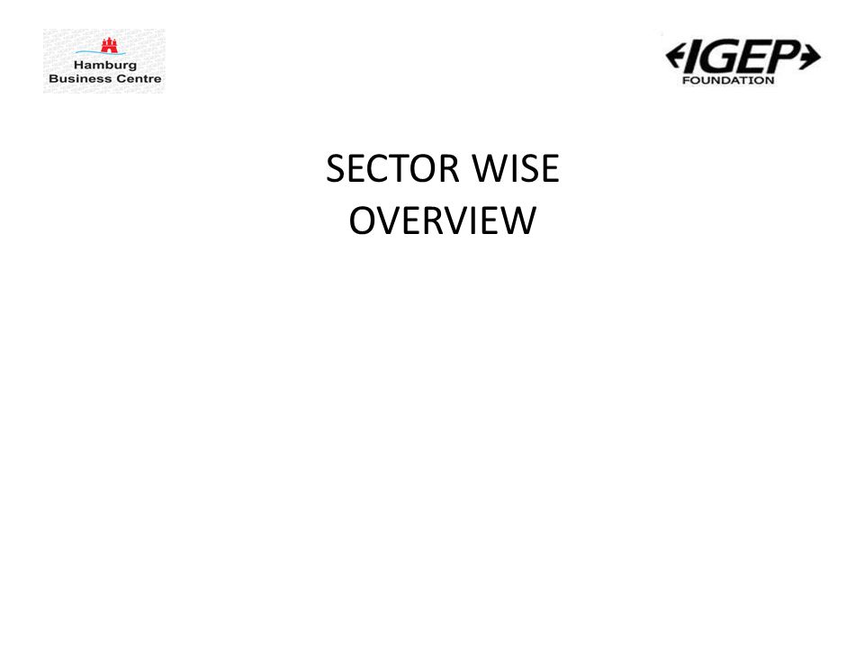 SECTOR WISE OVERVIEW