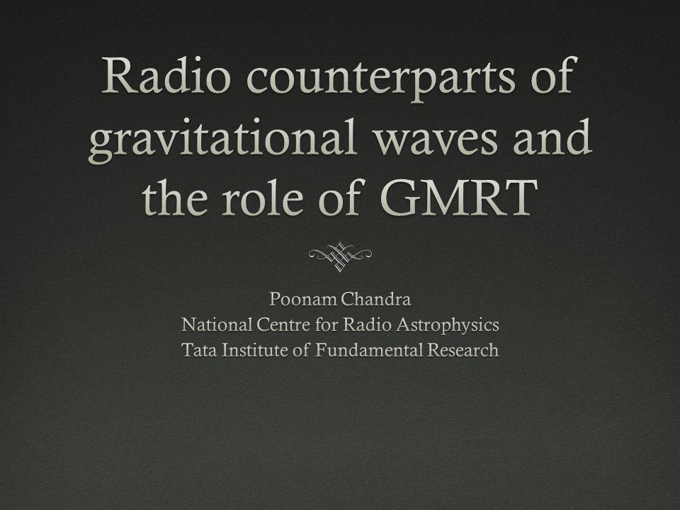 Giant Metrewave Radio Telescope (GMRT)