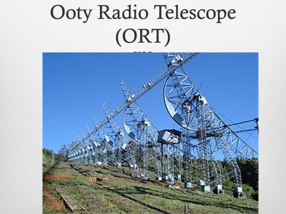 Ooty Radio Telescope (ORT)
