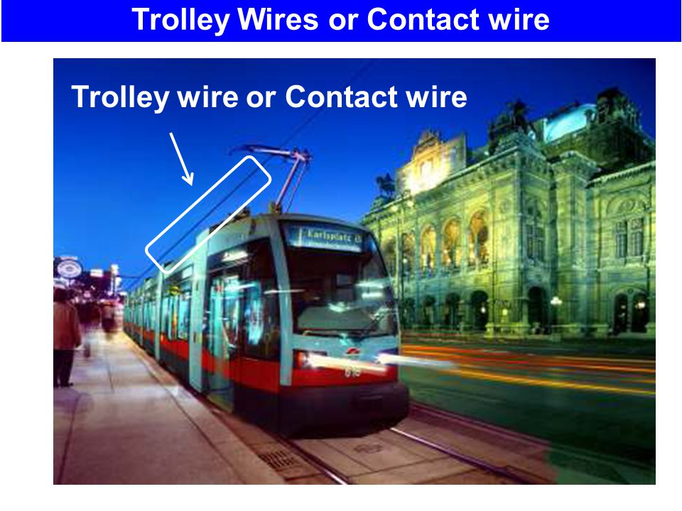 Trolley Wires or Contact wire Contact wire