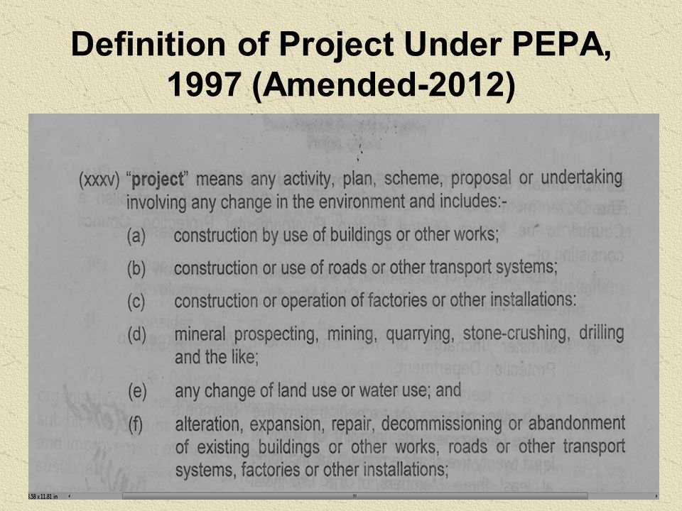 RULES & REGULATIONS UNDER PEPA-1997  Self Monitoring and reporting by industry rules-2001.
