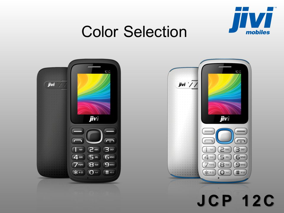 Color Selection JCP 12C