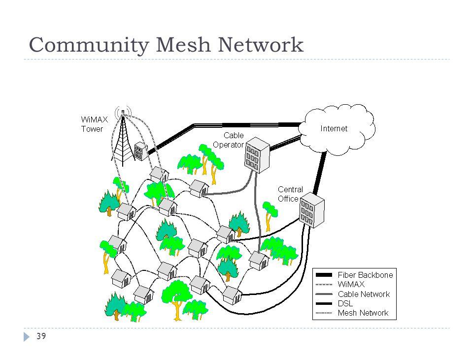 39 Community Mesh Network