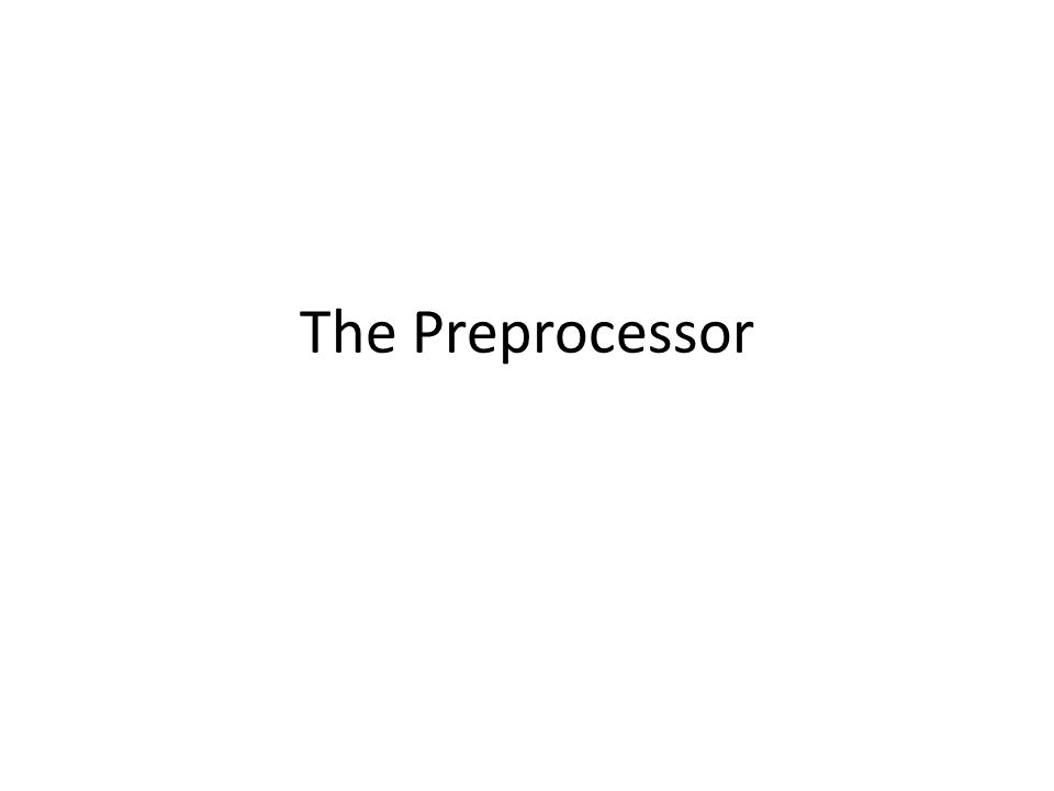 The #define Statement Analogous to doing a search and replace with a text editor; in this case, the preprocessor replaces all occurrences of the defined name with its associated text.