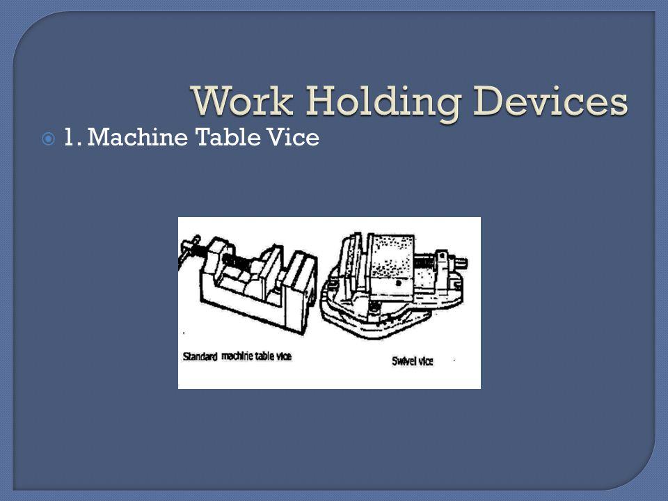  1. Machine Table Vice