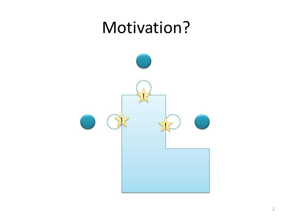 Motivation? ! ! ! ! ! ! 2