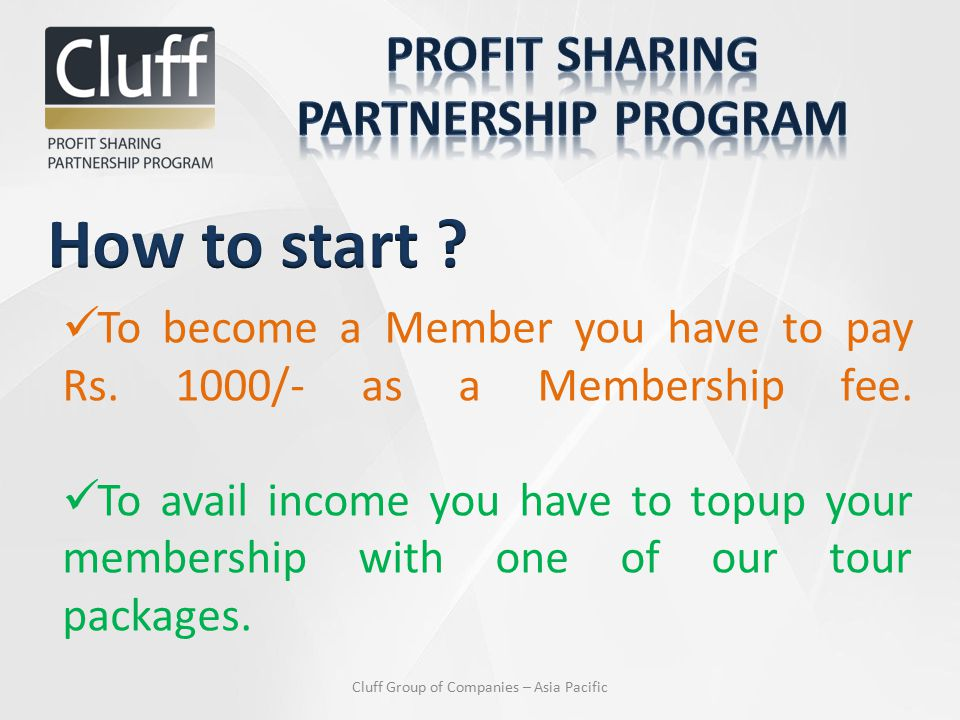 To become a Member you have to pay Rs. 1000/- as a Membership fee.
