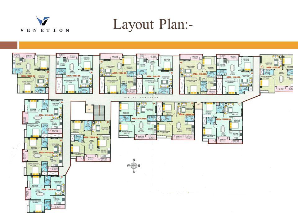 Layout Plan:-