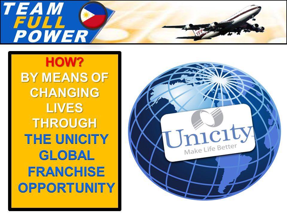 T.E.A.MT.E.A.M F.U.L.LF.U.L.L P.O.W.E.RP.O.W.E.R HOW BY MEANS OF CHANGING LIVES THROUGH