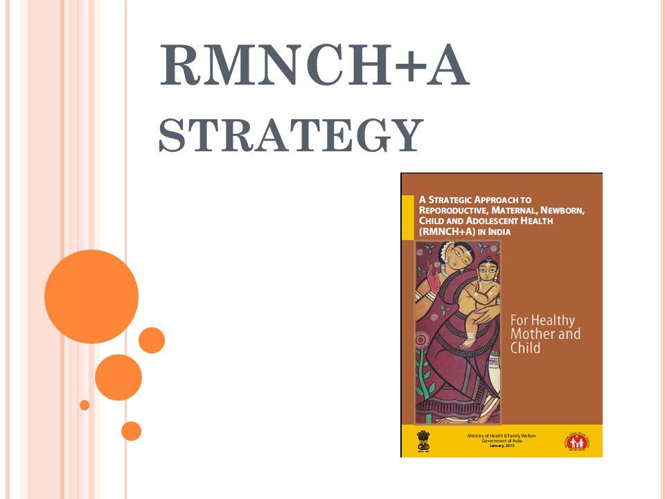 RMNCH+A STRATEGY
