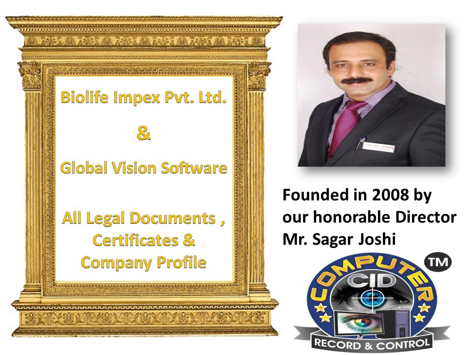 Founded in 2008 by our honorable Director Mr. Sagar Joshi