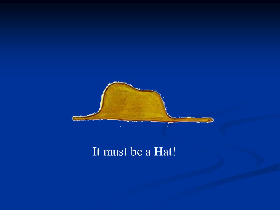 It must be a Hat!