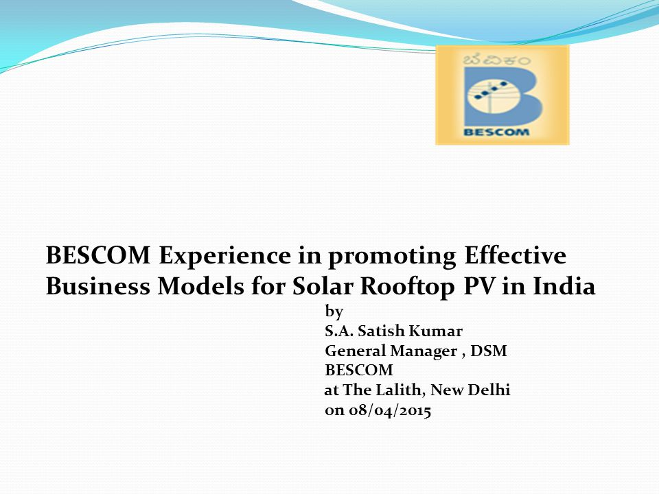 Segment - 2:Grid connected solar rooftop projects and metering The Gok shall promote grid connected solar rooftop projects on public building, domestic, commercial and industrial establishments though net metring and gross metering methods based on tariff orders issued by KERC from time to time.