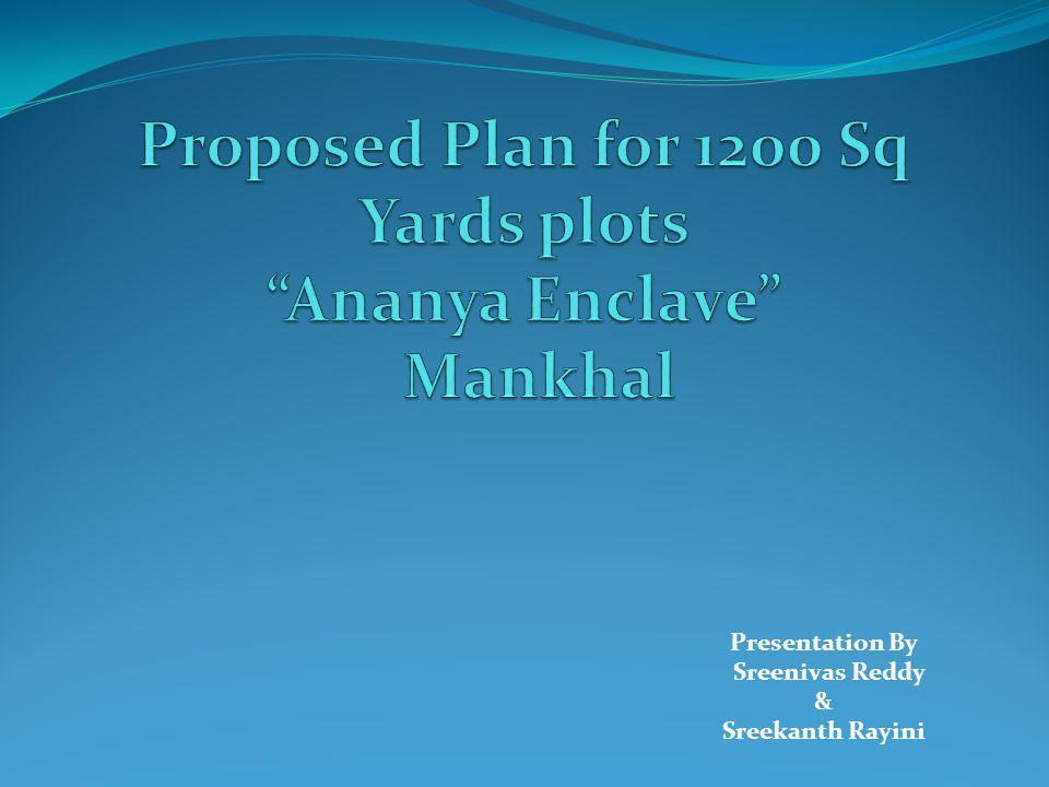 Presentation By Sreenivas Reddy & Sreekanth Rayini