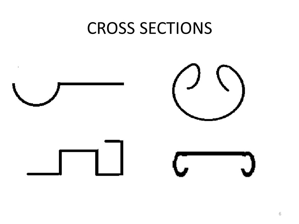CROSS SECTIONS 6