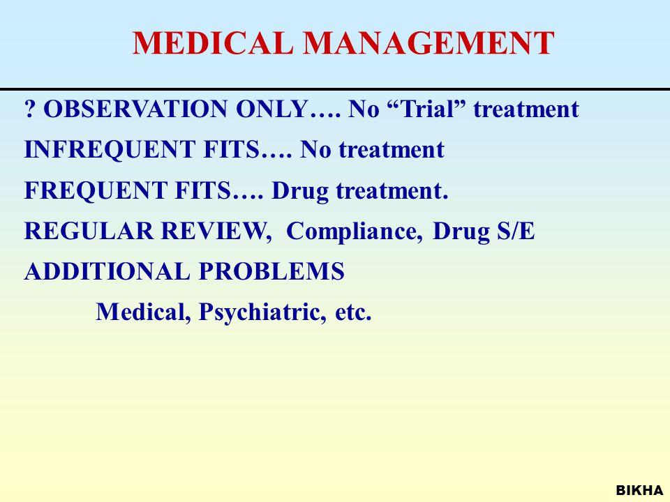 BIKHA PSYCHIATRIC DIFFERENTIAL DIAGNOSES Conversion disorder Panic disorder Dissociative disorders Psychotic disorders Post-traumatic stress disorder