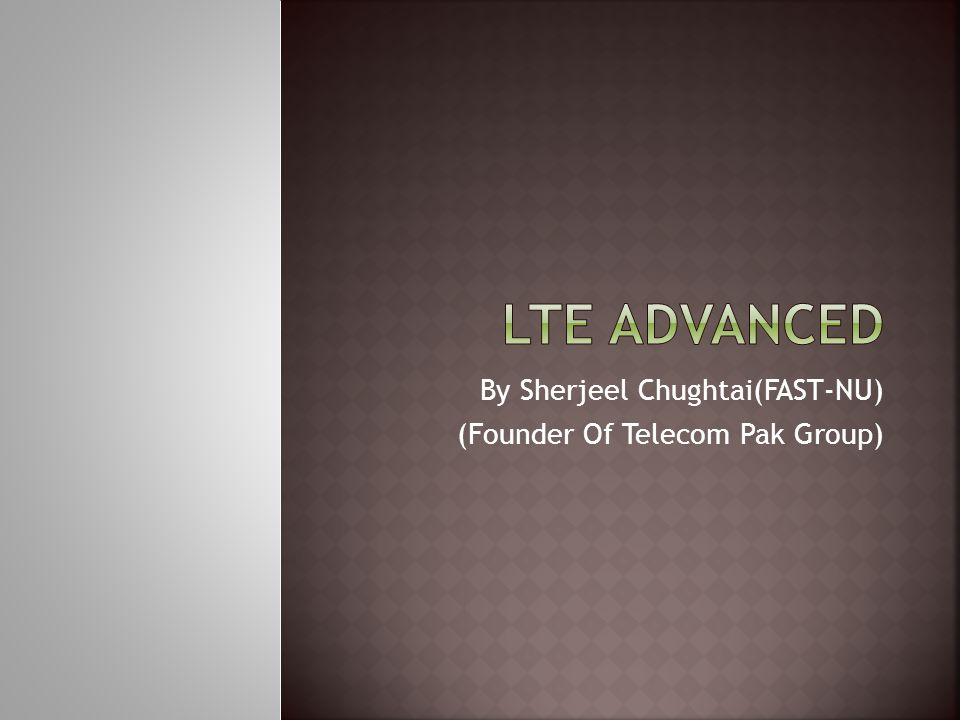  LTE Advanced benefits is the ability to take advantage of advanced topology networks; optimized heterogeneous networks with a mix of macros with low power nodes such as picocells, femto cells and new relay nodes.