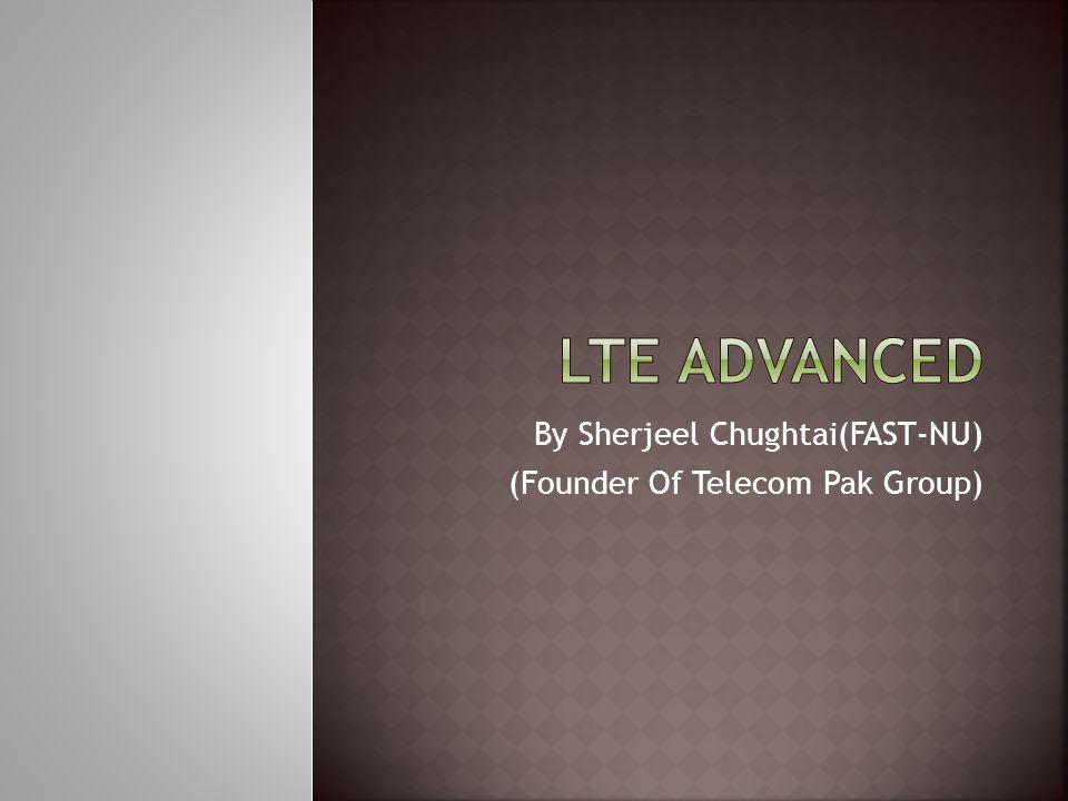 By Sherjeel Chughtai(FAST-NU) (Founder Of Telecom Pak Group)