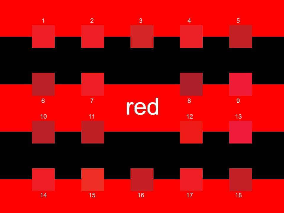 red 12345 6789 10111213 1415161718 red