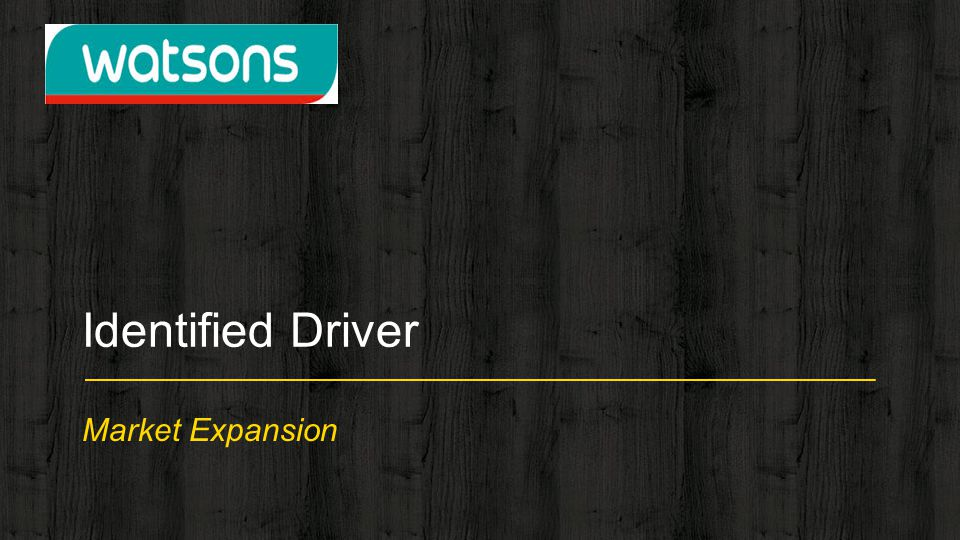 Market Expansion Identified Driver