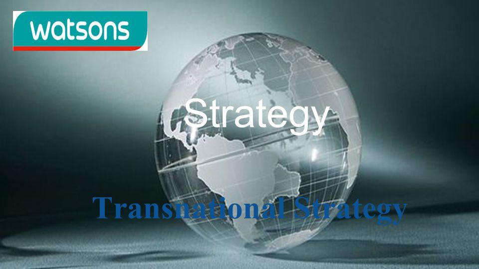 Strategy Transnational Strategy